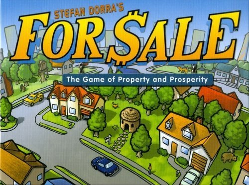For Sale - Travel Edition (Board Game For Sale)