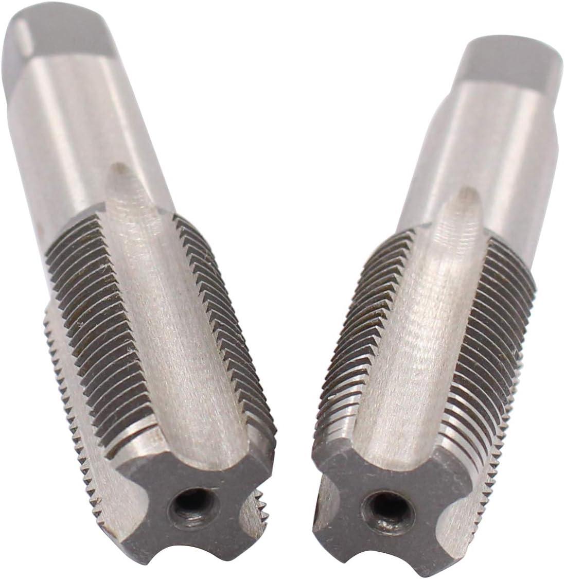 ApplianPar 18mm x 1.5 HSS Taper and M18 x 1.5mm Pitch Plug Tap Right Hand Set of 2
