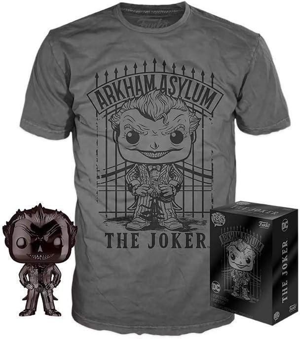 Chrome The Joker Funko Pop Vinyl Batman Arkham Asylum DC #53