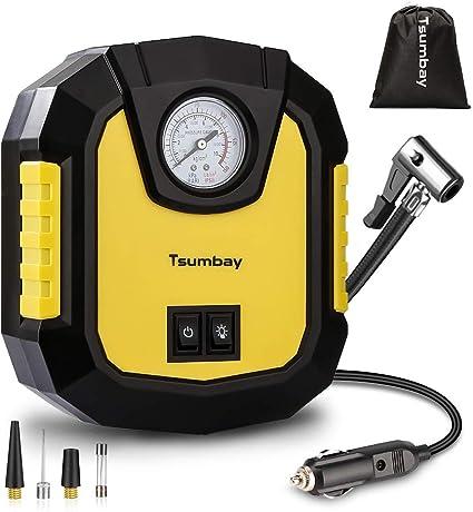 Amazon.es: Tsumbay Compresor Aire Coche, 150Psi Portátil Bomba de ...