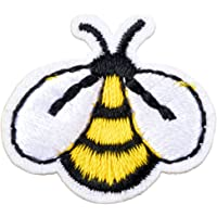 Souarts Bee Backpack Clothing Jacket Shirt Sticker DIY Embroidered Iron on Sew On Patch