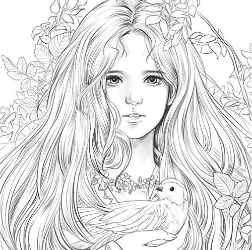Amazon Momo Girl Girls With Music Coloring Book New Version Of Rhamazon: Super Coloring Pages Flowers At Baymontmadison.com