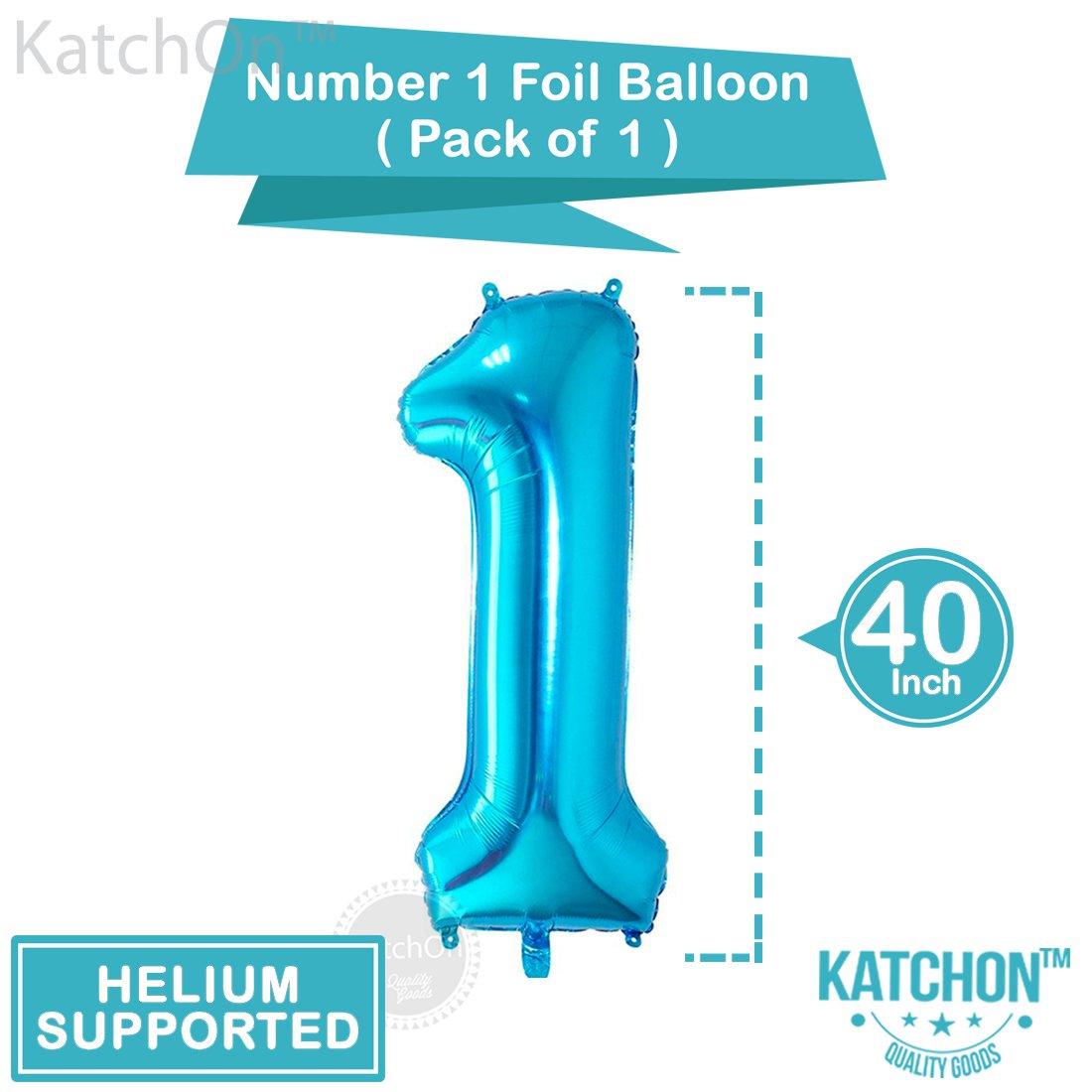 1st Birthday Boy Balloons Set - BONUS - Printable Party Planner and ...