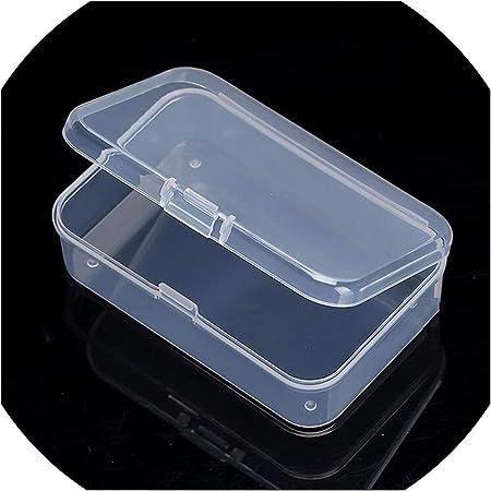 Cajas Decorativas de plástico, 21 tamaños, con Tapa Transparente ...