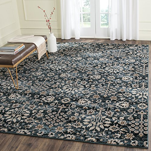 Safavieh Serenity Collection SER209G Turquoise and Cream Area Rug 6 x 9