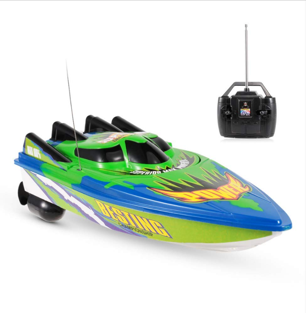 xuxuejiao highspeed remote control boat remote control boat radio control  rowing rtr electric boat rc waterproof toy brushed motor builtin battery