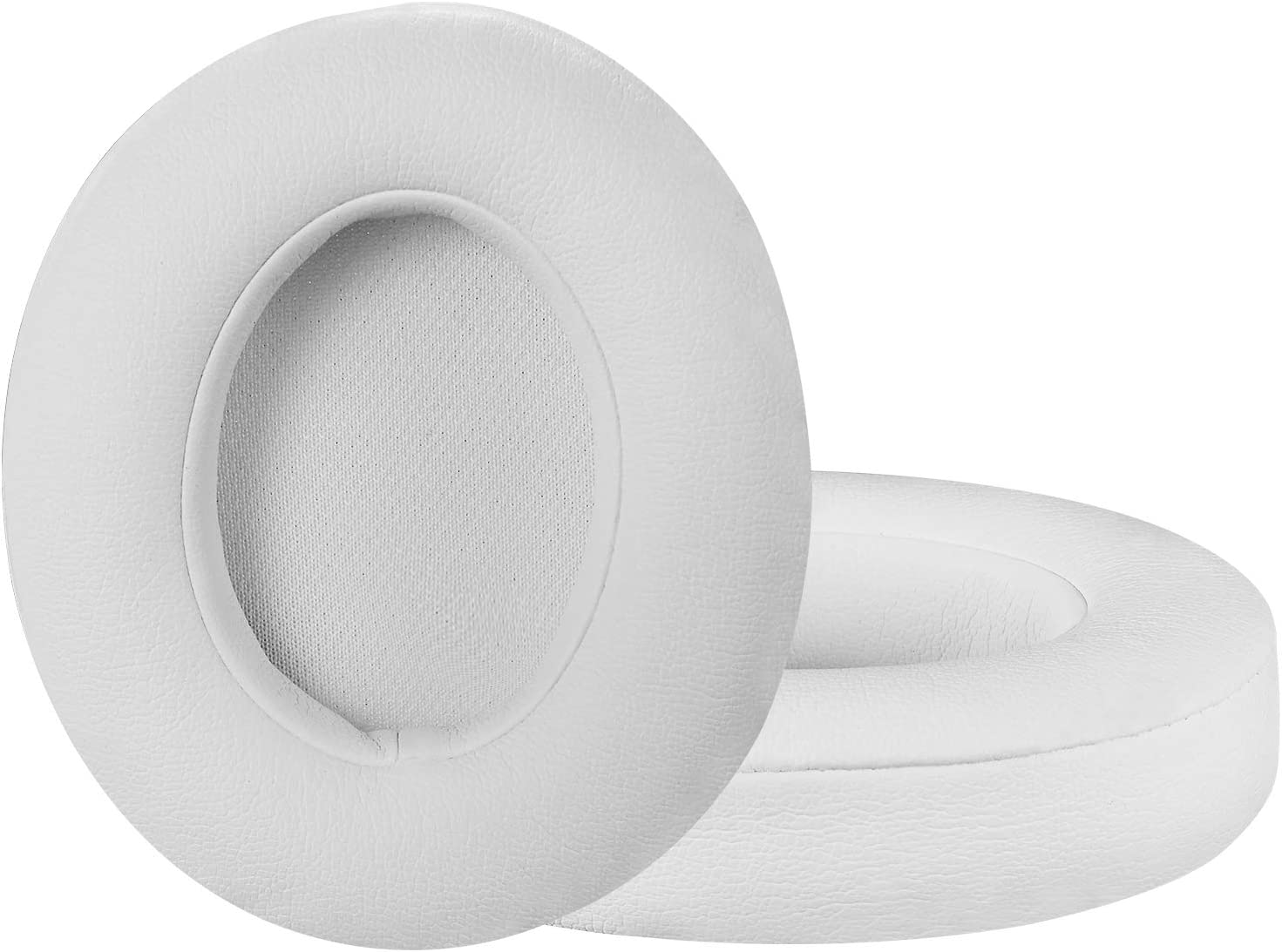 Beats Studio Replacement Ear Pads Cushions - Noise Isolation Adaptive Memory Foam | Upgraded Strong Adhesive with Easy Installation - Compatible with Studio 2 & 3 / Wired/Wireless,White