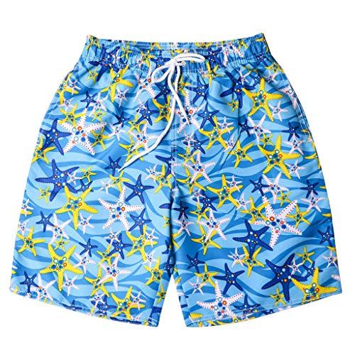 Shusuen Men's Yolo Quick Dry Beach Swim Trunk Summer Shorts]()
