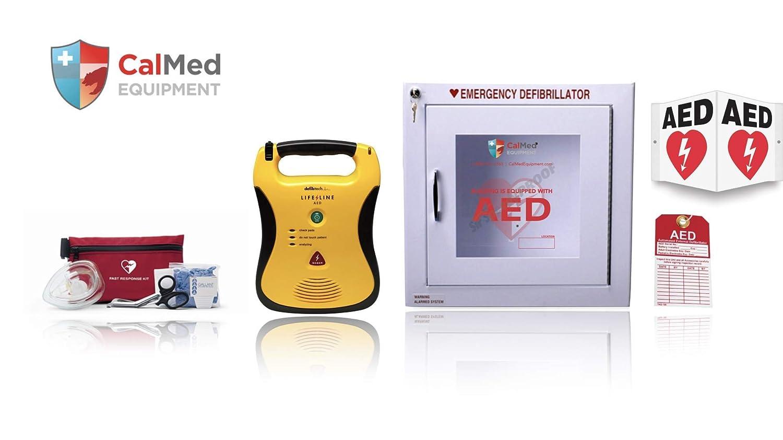 Amazon com: CalMed AED Defibrillator Bundle-CMD Package: Industrial