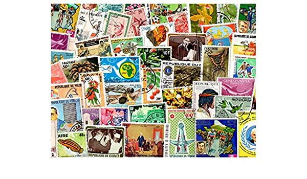 pghstamps África del Continente Africano 500 Colección de ...