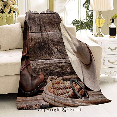 Lariat Saddle Living Room - Popular Blanket,Anti-Wrinkle Function,Suitable for Living Room Sofa,59