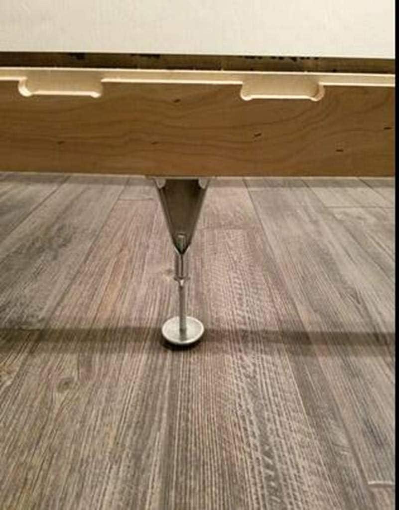 No Scratch Glide Frame Support System Gourd Adjustable Height Bed Frame Slat Center Support Leg