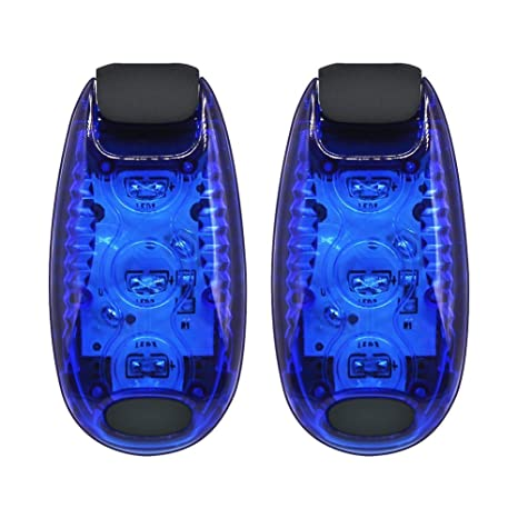 LED Safety Light Reflective Magnet Clip On Strobe Running Walking Cycling Sight