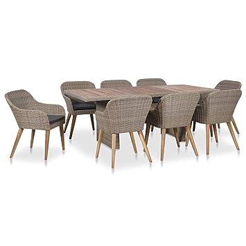Sedie E Tavoli Da Giardino In Vimini.Nuovo Elenco Design Raffinato Di Modo Attraente Tavolo Pranzo