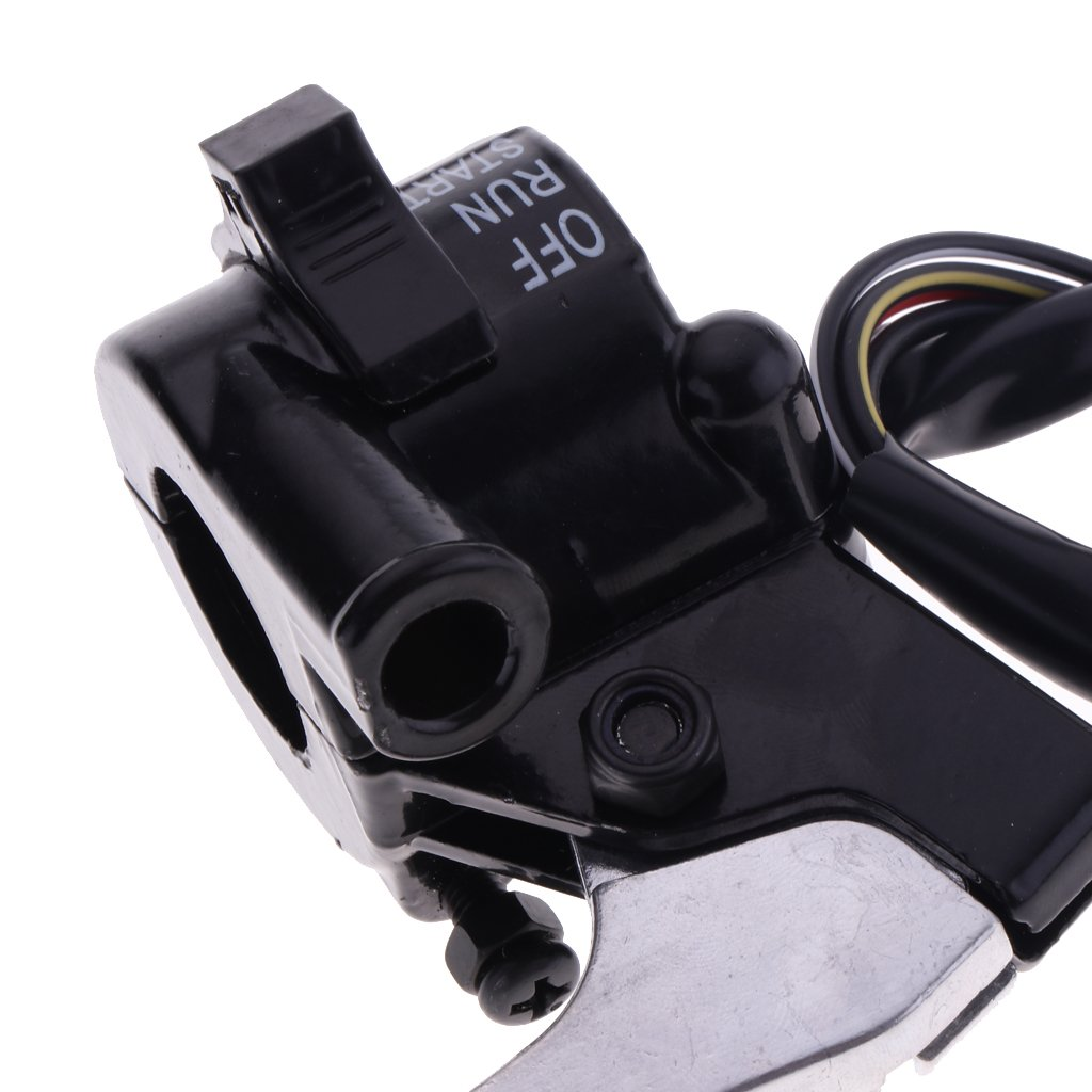 MagiDeal Right Side Throttle Start Kill Switch Brake Levers for Yamaha Y-Zinger PW50
