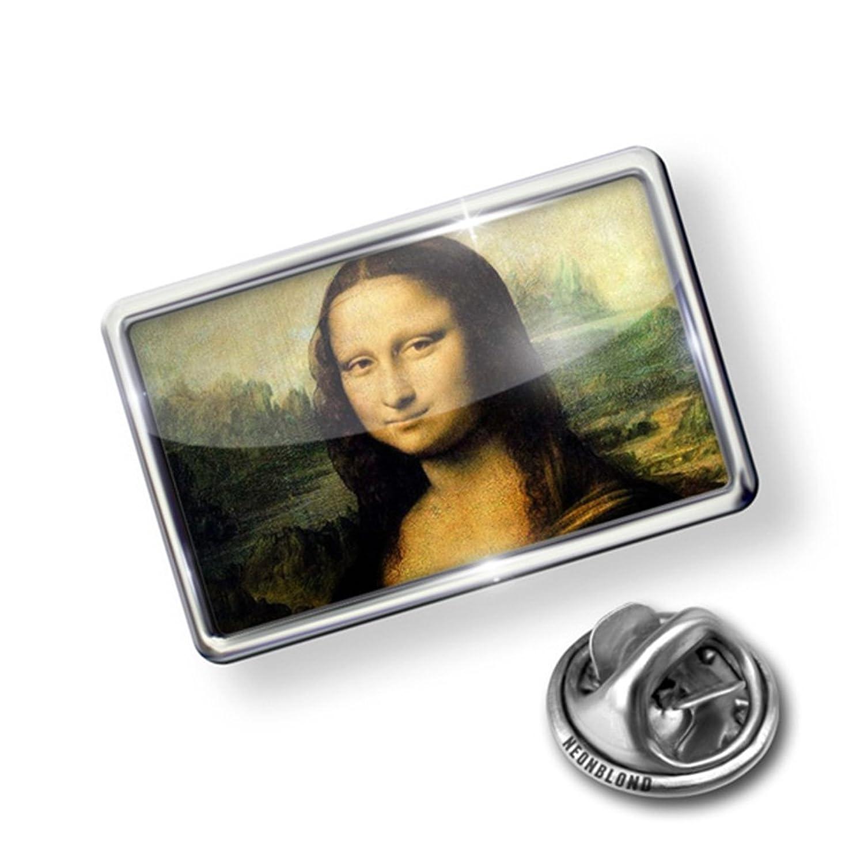 Pin Mona Lisa - Lapel Badge - NEONBLOND