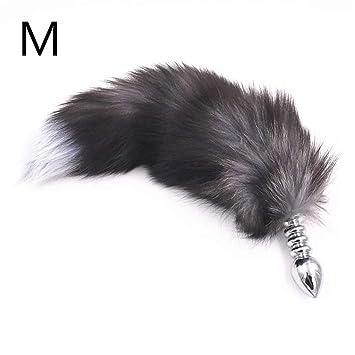 56ce54755 Butt Jewel Plug Thread Stainless Steel Anal Plug 3 Size to Choice Butt Plug  Animal Fox