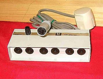 Amplificador HI-FI de auriculares AMP/PE Perpetuum Ebner SKF de 10 puertos con