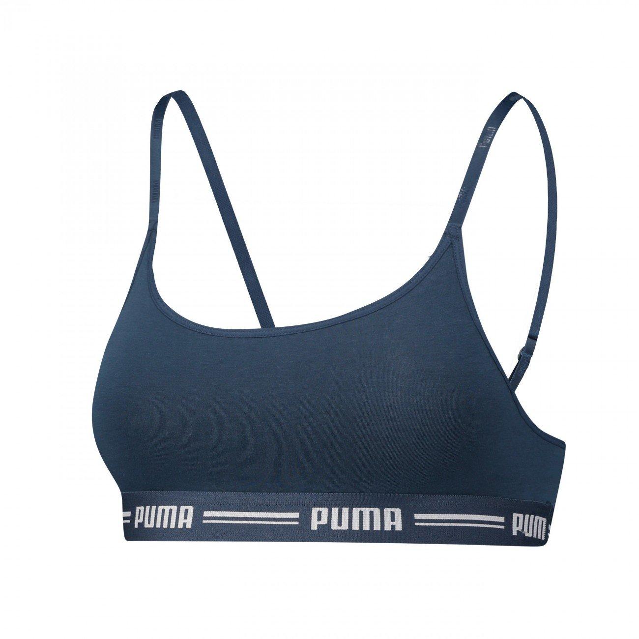 Puma Iconic Casual Bralette Bra 1p E-com Ropa Interior, Mujer