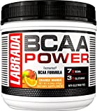 LABRADA NUTRITION – BCAA Power Powder, Fermented Amino Acids with Glutamine & Electrolytes, Muscle Building Post Workout Supplement, Orange Mango, 30sv Review