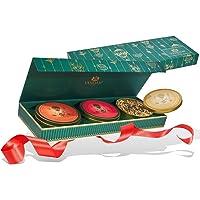 VAHDAM, Chai Tee Privatreservat TRIO | Tee Geschenkset | 3 TEES, 75 PORTIONEN | 100% natürliche Gewürze | Maharaja Oolong, Süßes Zimt & Ingwer Chai | Feinste Weihnachtsgeschenke für Frauen und Männer
