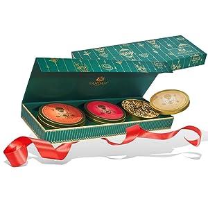 VAHDAM, Chai Tea Private Reserve Trio - 3 Teas in a Tea Sampler Gift Box | OPRAH'S FAVORITE TEA 2018-19 | 100% Natural Ingredients - Birthday Gifts for Men & Women | Men Gifts | Tea Gifts Set