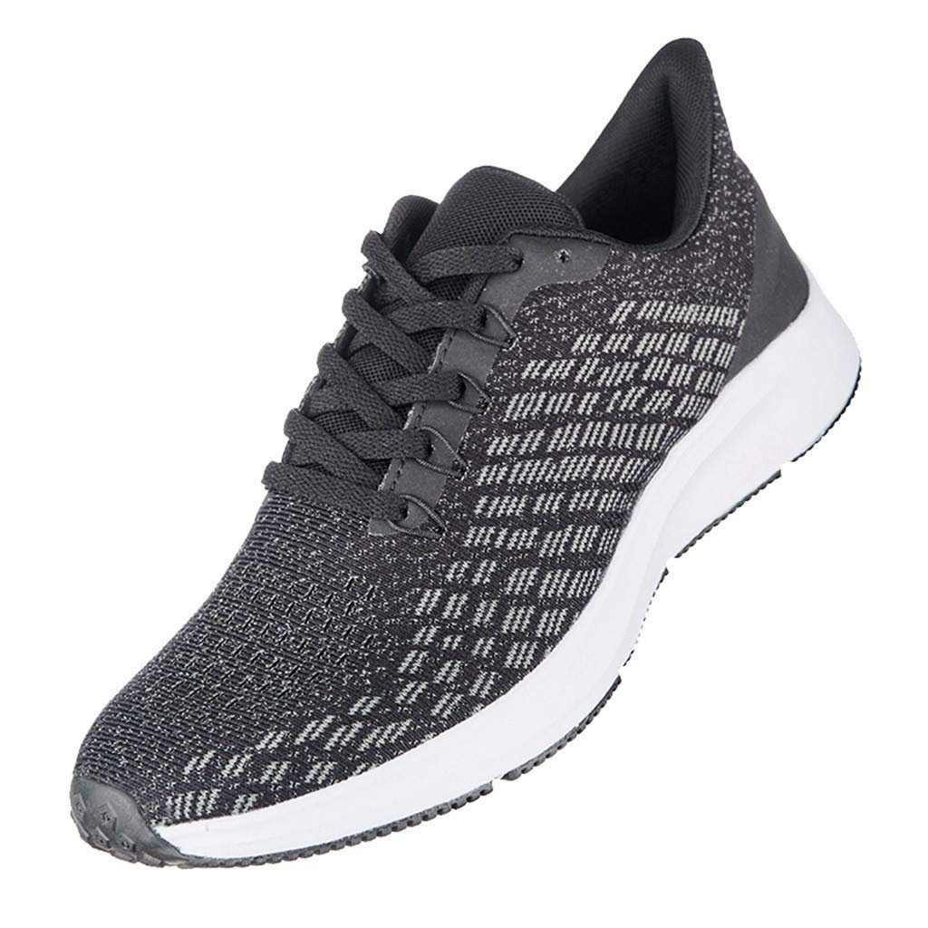 Couple Ultralight Sneakers - Outdoor Shockproof Fly Knit Mesh Breathable Casual Sneakers Fashion Lacing Sport Running Shoes