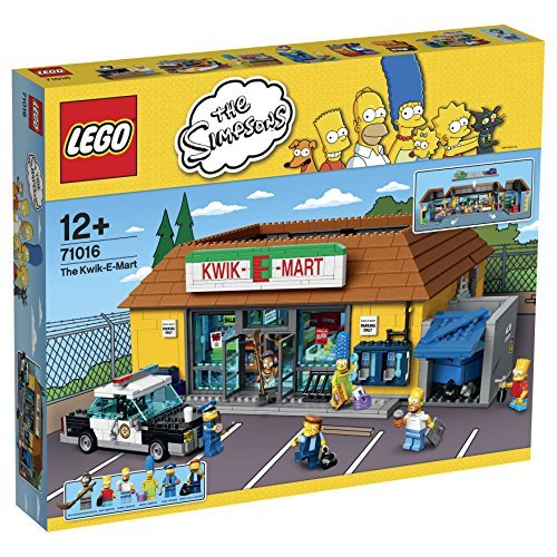 Lego LEGO The Simpsons Kwik-E-Mart Set # 71016 Toy block Toy Hobby [domestic regular distribution goods]