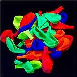 Glow King UV Blacklight Reactive Fluorescent / Neon Glow Party Balloons