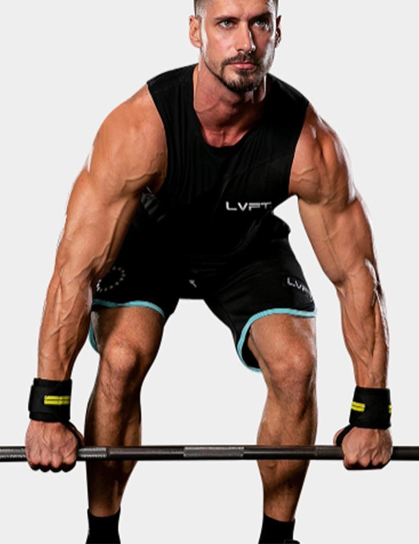 Bodybuilding,Fitness,Powerlifting Trainingsausr/üstung Gurtgummiband Handgelenkwickel Handgelenk Legou Unisex inklusive Daumenschlaufe Handgelenkst/ützen f/ür Kraftsport