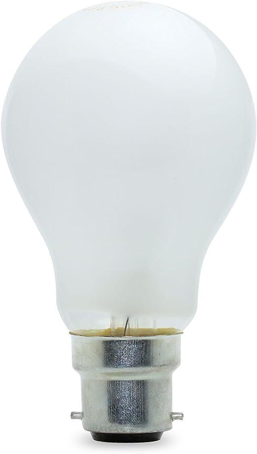 5 x 60W Coloured GLS Light Bulbs B22 Bayonet 60 Watt Traditional Lamps BC