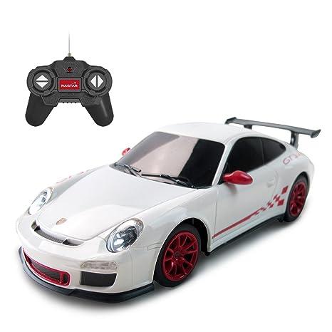 Amazon Com Rastar Porsche Remote Control Car 1 24 Rc Porsche Gt3