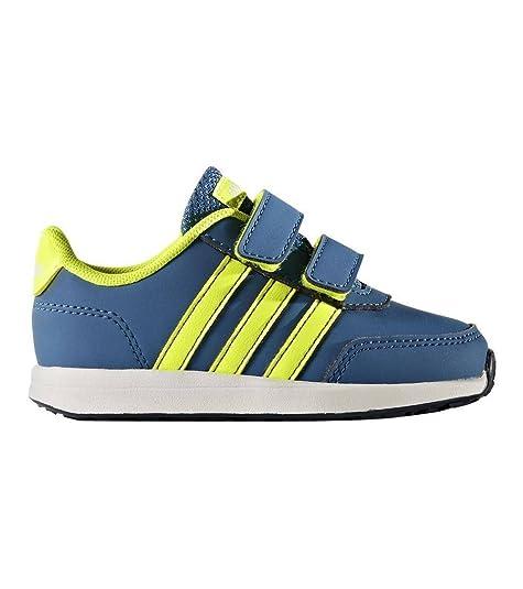 Adidas Vs ADV CMF Inf, Zapatillas Unisex Bebé, Azul (Maruni/Amasol/Azubas), 25 EU