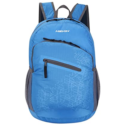 Camping & Hiking Realistic Lightweight Foldable Backpack Travel Day Bag Water Resistant Hiking Daypack For Adults Kids Outdoor Sports Camping Cycling