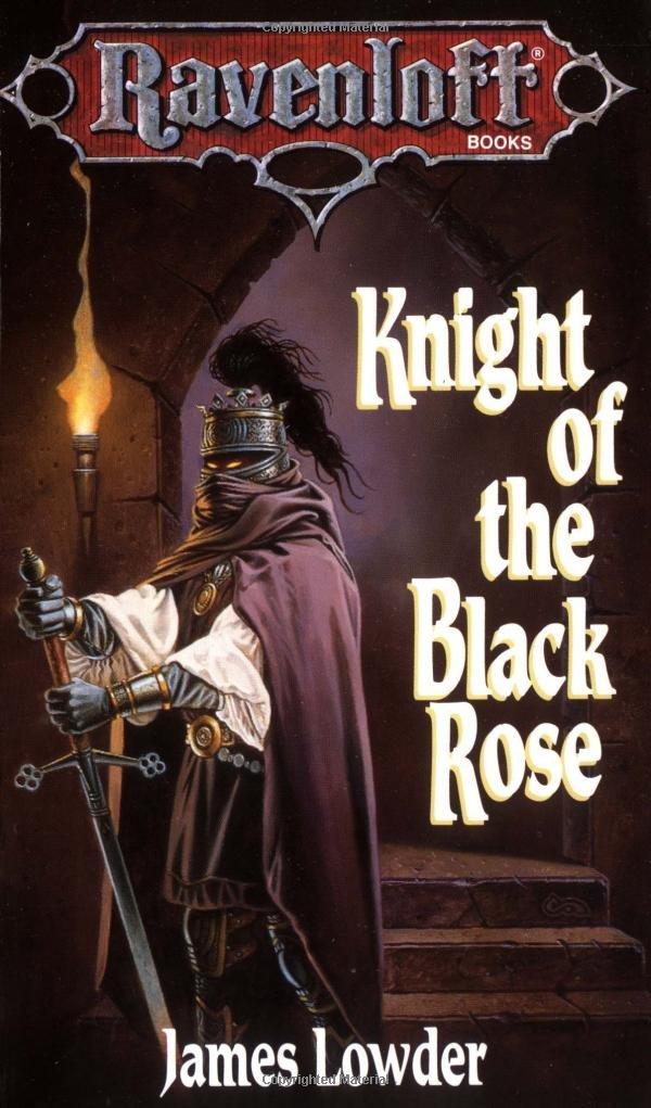 Knight Black Ravenloft James Lowder product image