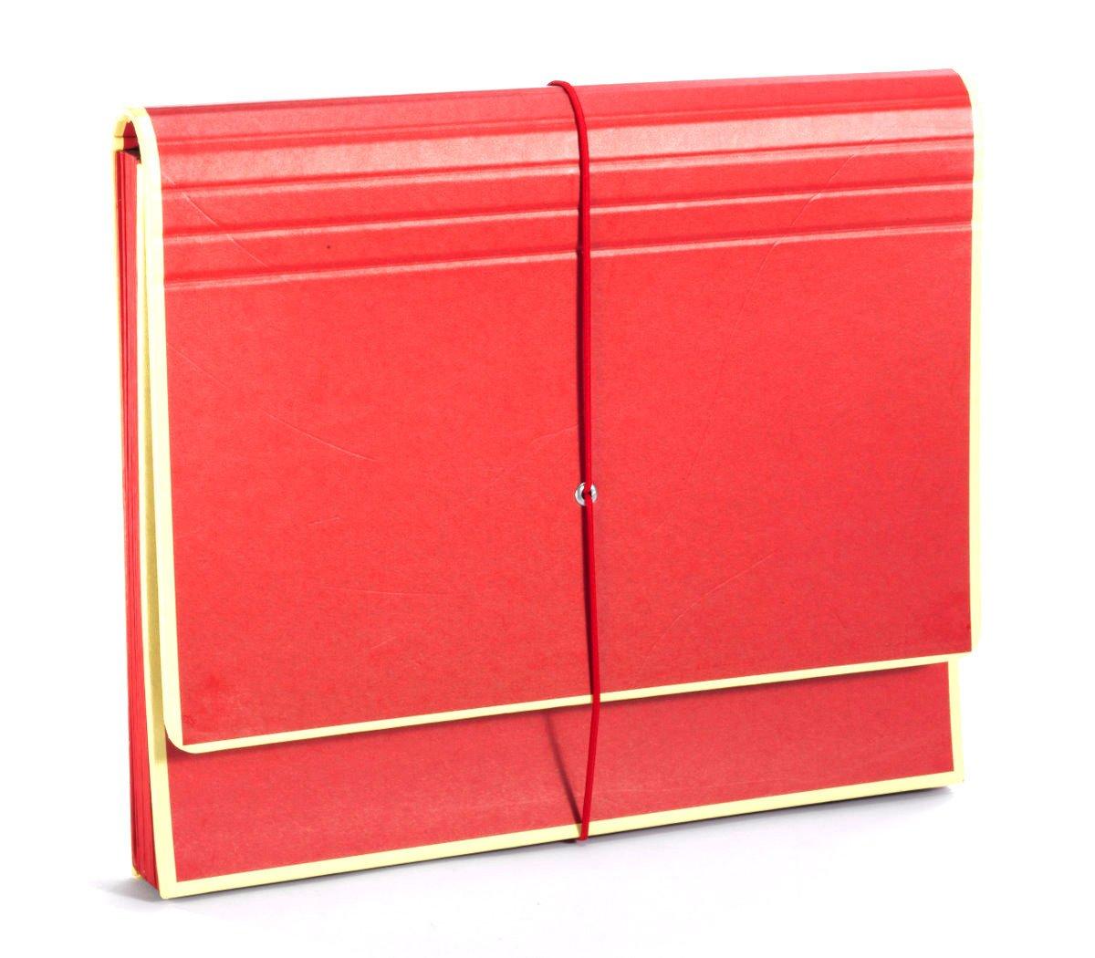 Beanbone 'The Accordion'' Red +++ Storage Binder