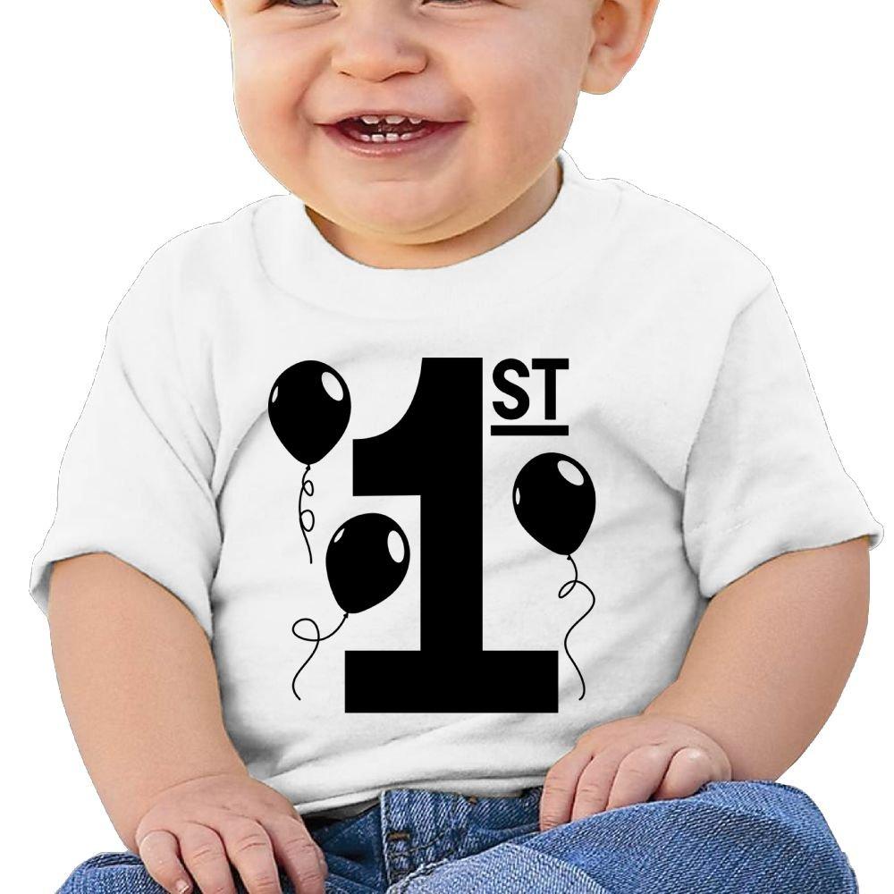 Arsmt Baby Boys Toddler//Infant Kids Happy 1st Birthday Top