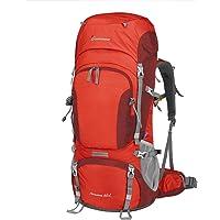 MOUNTAINTOP 60/65L Zaino Trekking Impermeabile Escursionismo Montagna Campeggio Alpinismo Viaggio