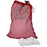 Sous Vide Water Balls | Pack of 300 | Reduces evaporation, saves water and energy | Strong mesh drying bag | BPA free | 20mm diameter