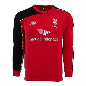 efbc9715d NEW BALANCE Liverpool 2015-16 MEN Training SWEATER Shirt WSTM554, Football  - Amazon Canada