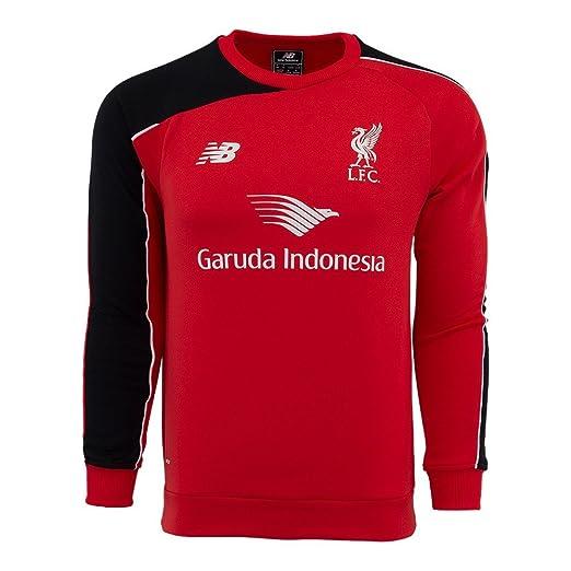 new arrival b962b 50536 Amazon.com: New Balance Liverpool Sweat Top [Red] (L): Clothing