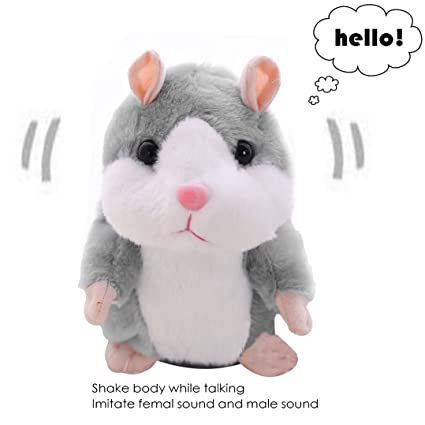 Toys & Hobbies Electronic Plush Toys Electronic Plush Toys Cute Sound Record Dog Play Toy Educational Toys Sing Stuffed Talking Toys For Children Selected Material