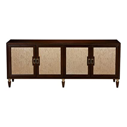 Merveilleux Ethan Allen Westbourne Media Cabinet, Hickory