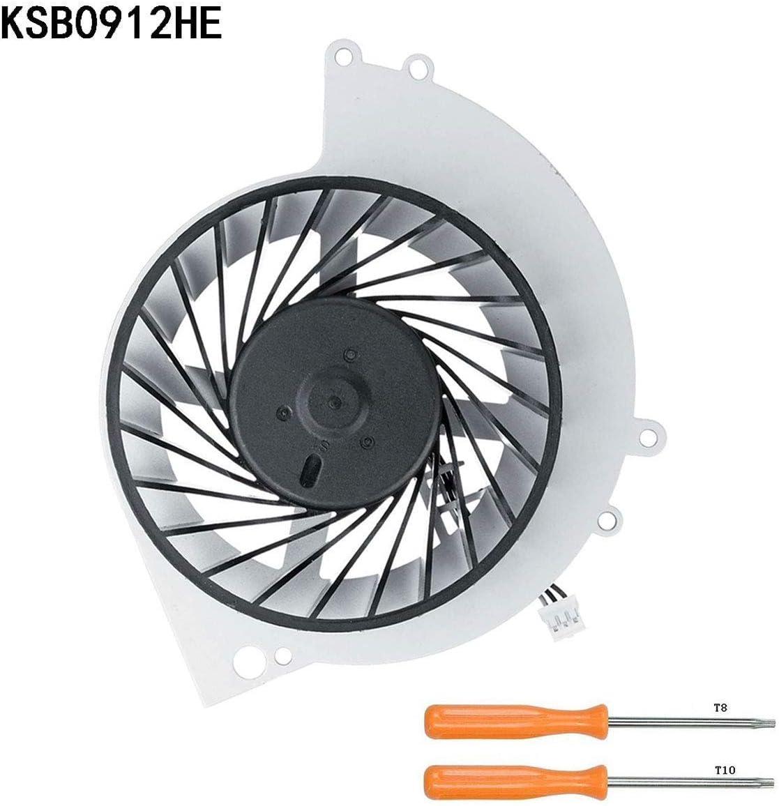 Poweka KSB0912HE CPU GPU Ventilador Interno de Enfriamiento de ...