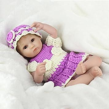 CY doll Muñeca De Plástico Blando Simulación Bebé Renacimiento ...