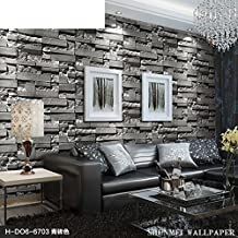 GXX faux brick tile pattern wallpaper/Project clothing shop TV background wall paper/ Chinese modern minimalist living room wallpaper-A