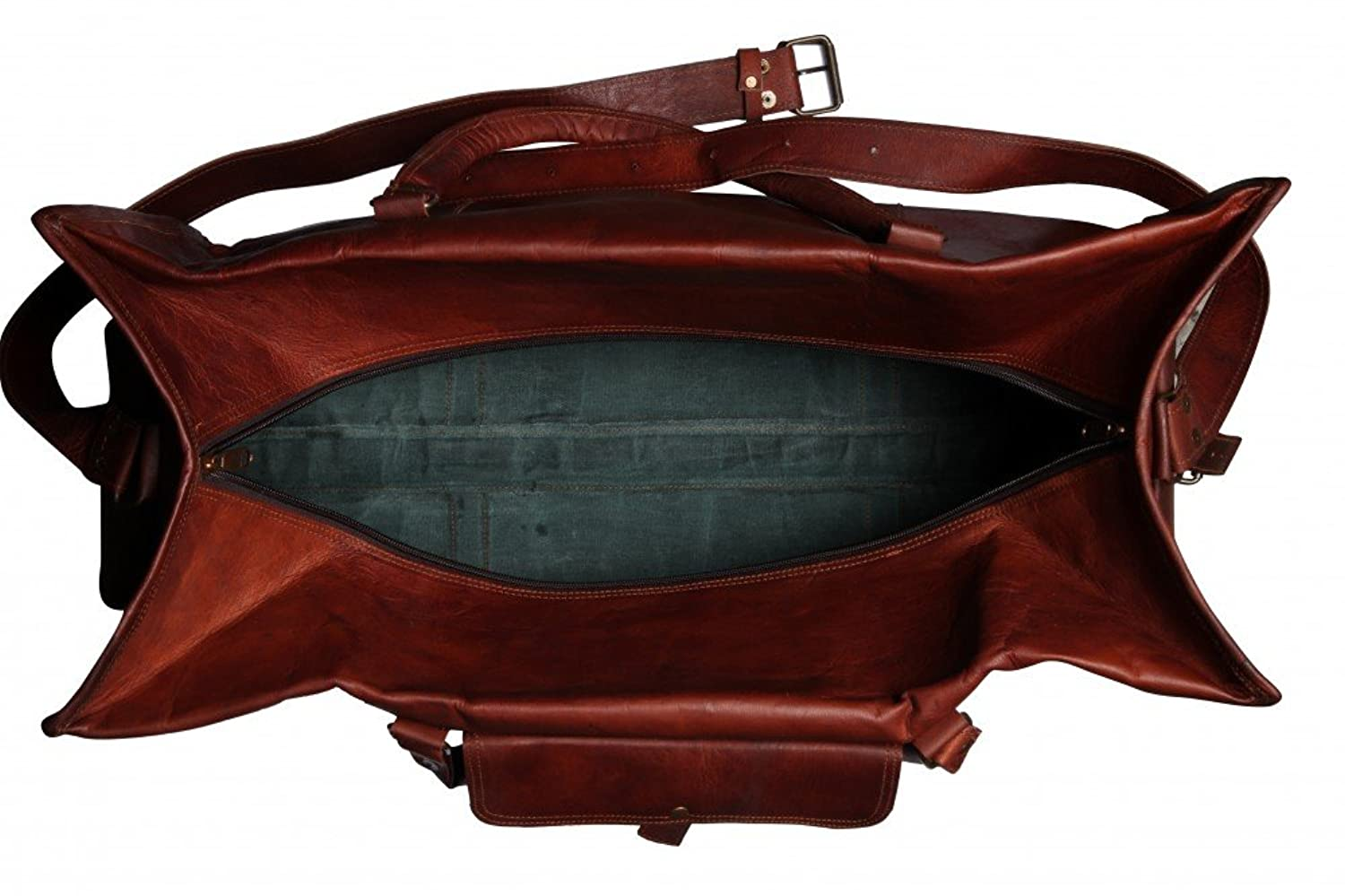 por mens leather duffle bag - Mens Leather Duffle Bag