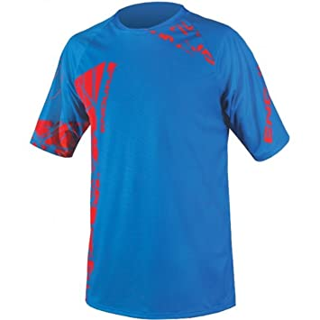 Endura Herren SingleTrack Core Print Kurzarm Fahrrad-T-Shirt