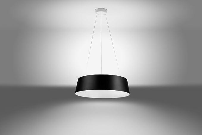 Linea light oxygen nero sospensione Ø cm w k amazon