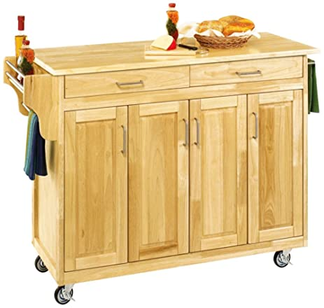 Amazon.com - Home Styles 9200-1011 Create-a-Cart Cabinet Kitchen ...